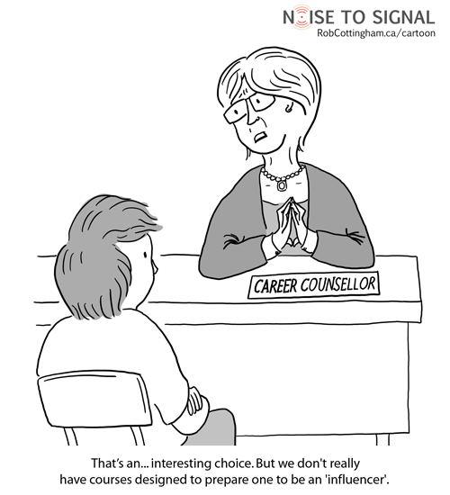 Guidance Counselor Cartoon Cartoon: when i grow up,
