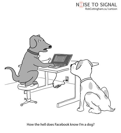 robcottingham.ca - How the hell does Facebook know I'm a dog?