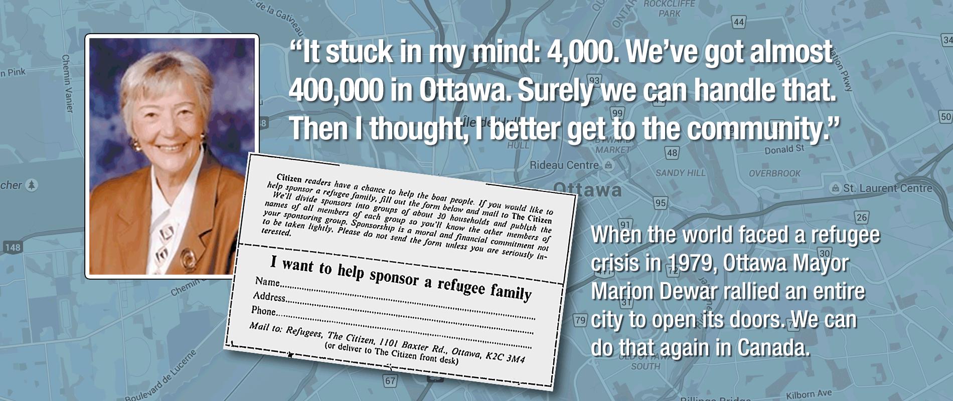 Canada needs more Marion Dewars