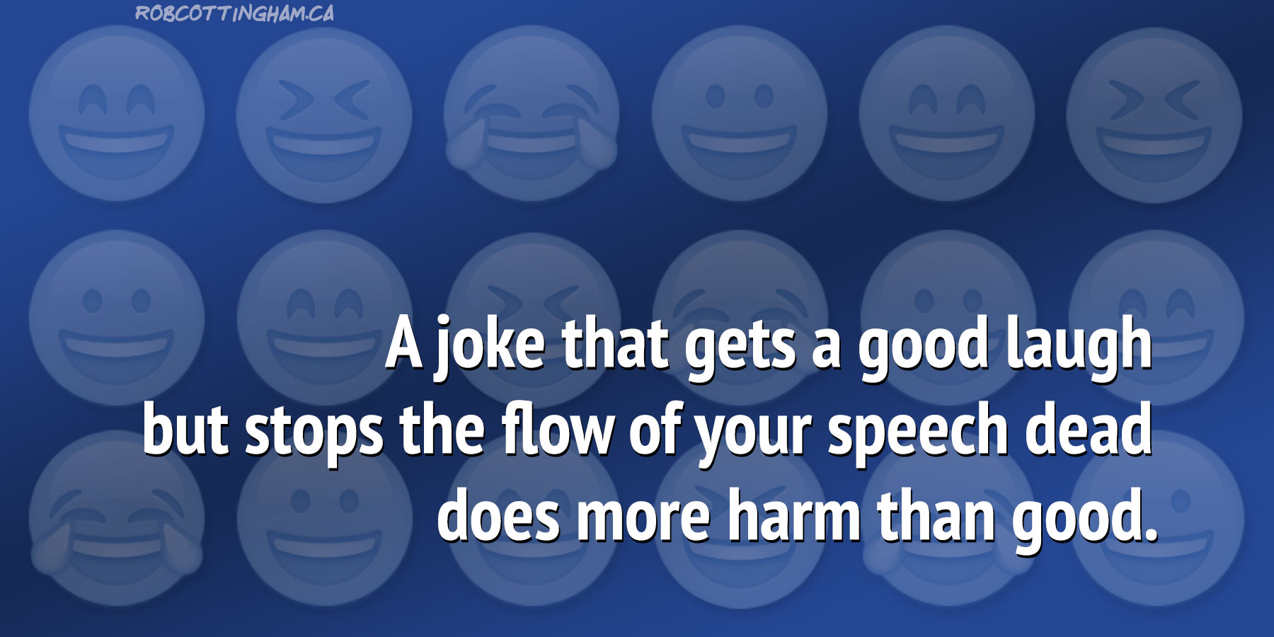 How to use humor in a speech (without getting burned)