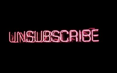 Don't make your audience unsubscribe from your speech