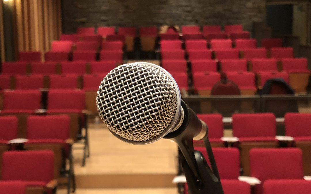 Public speaking photos, free to use